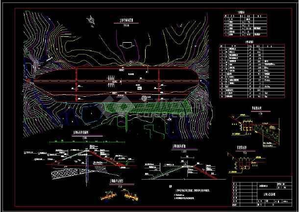 某水库大坝除险加固全套cad设计图纸-图1