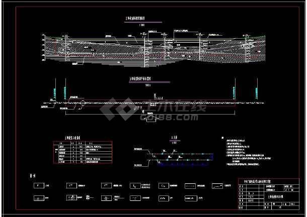 某水库大坝除险加固全套cad设计图纸-图2