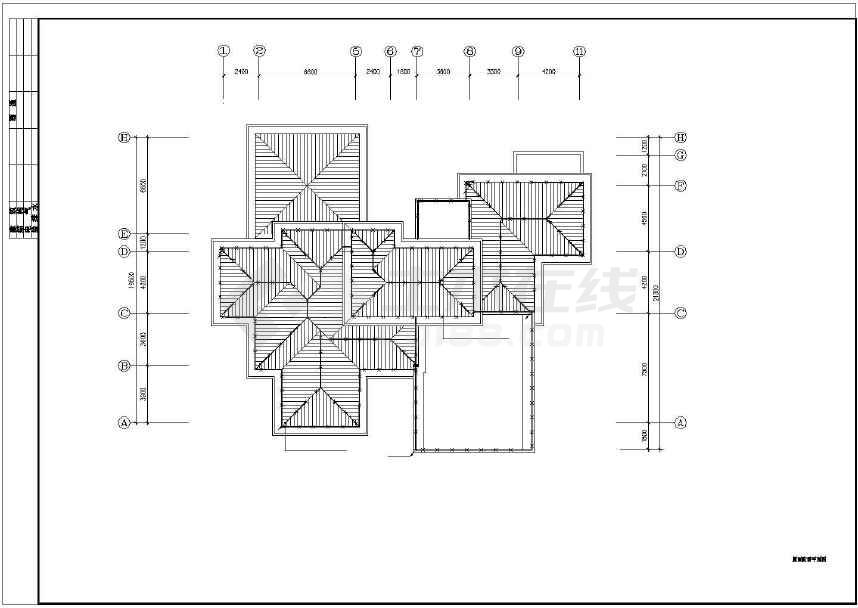 某别墅给排水设计图纸(共10张)-图3