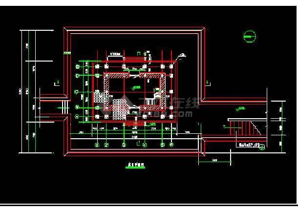 某设计长城图纸建筑施工CAD古建电图纸弱cad小区修补图片