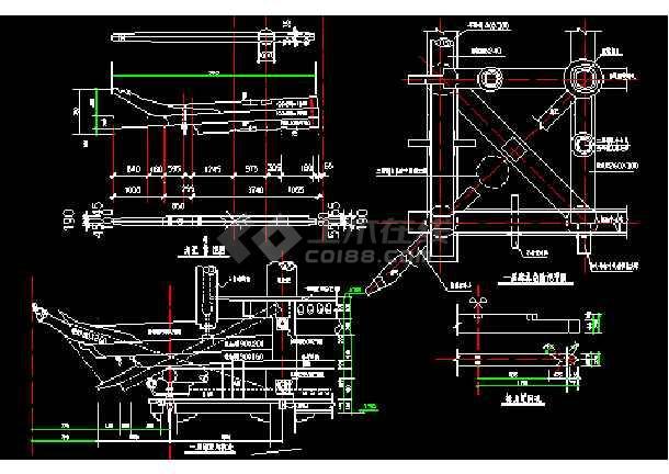 某设计长城图纸建筑施工CAD图纸排版古建修补幼儿园图片