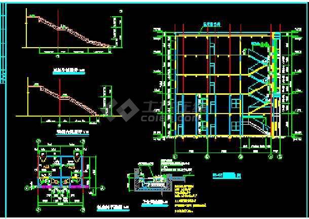 某小区住宅出租屋cad建筑设计施工图纸