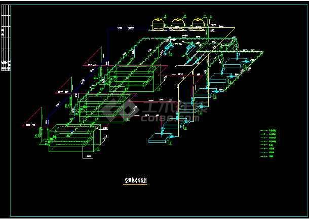 某实用节能空调全套cad设计施工图-图2