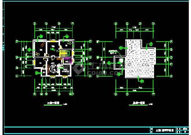 某新型意见住宅见建筑CAD设计施工图纸服内审图纸客农村图片