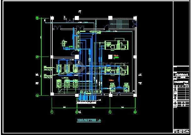 某经典空调标准图结构cad设计图-图1