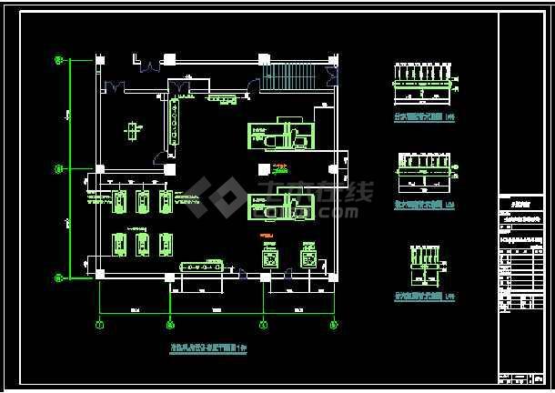某经典空调标准图结构cad设计图-图2