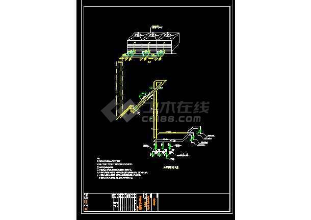某经典空调标准图结构cad设计图-图3