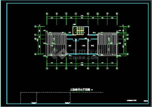 洪洞市南蒋村党群服务中心--给排水-图1