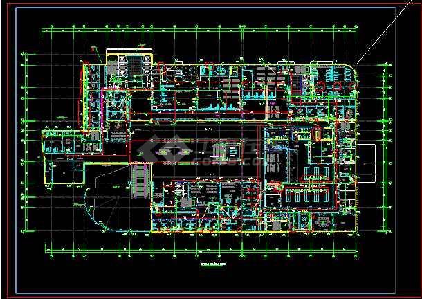 某市第二人民医院装修工程--水专业-图3