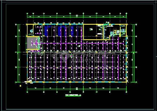 一套峰江市派出所建设工程--水设计图纸-图1