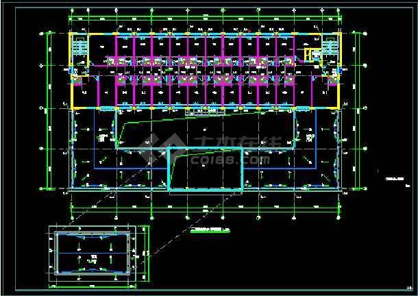 一套峰江市派出所建设工程--水设计图纸-图3