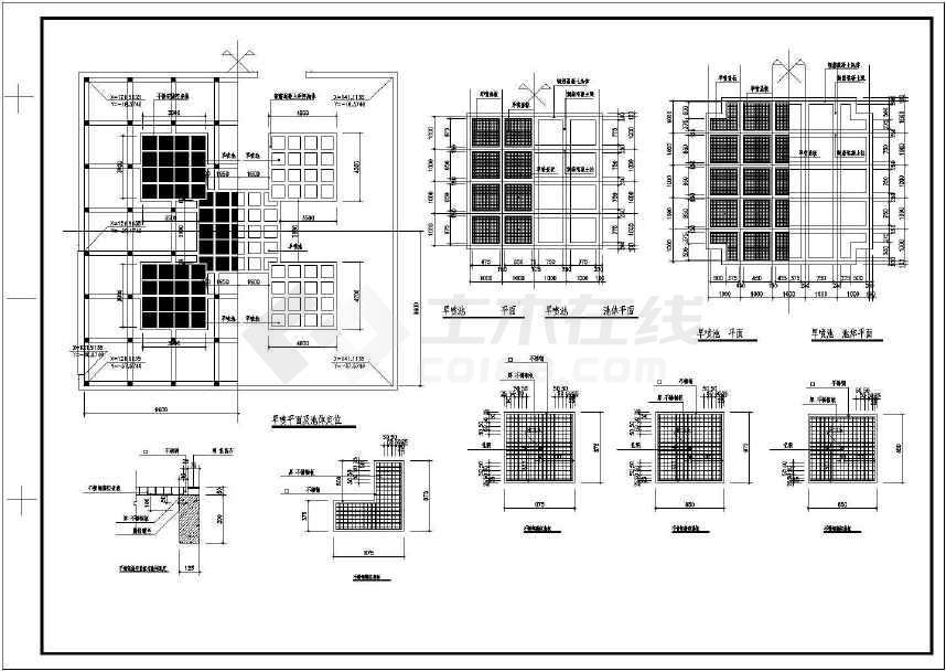 某地区比较详细受欢迎的小游园规划施工图-图3