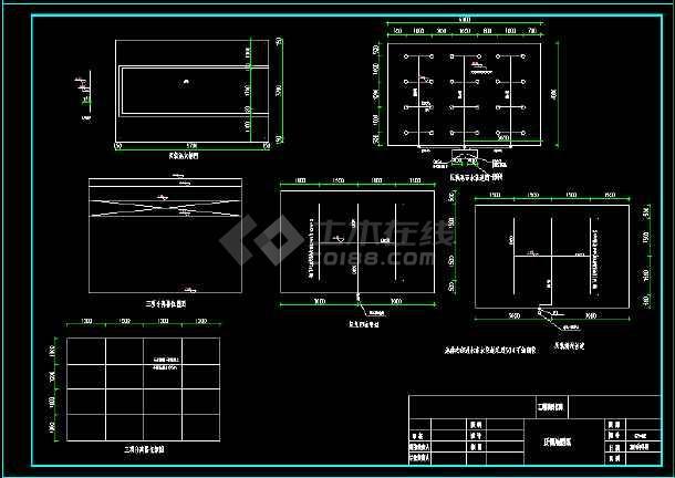 某食品厂一体化设备施工图纸-图2
