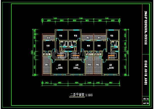 某城市建筑设计院规划设计cad图纸