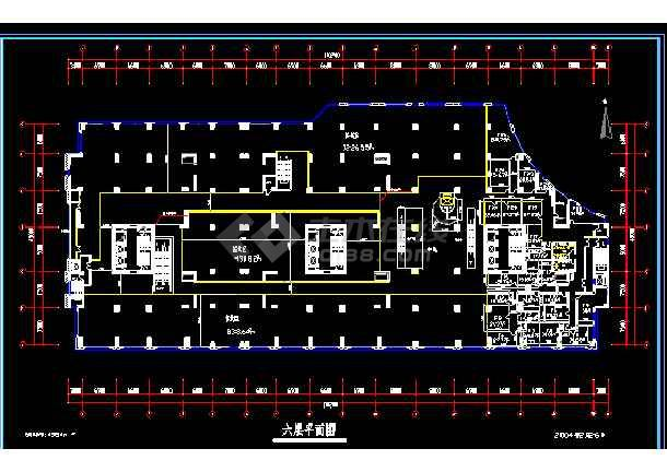 灯饰城的电器施工cad平面设计图-图3