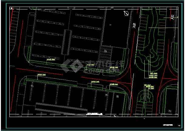 太港区欧美高新技术产业园绿化工程-图2