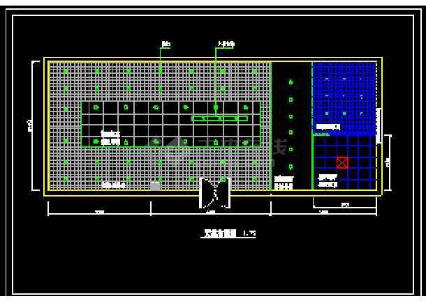 某市电器商店装修CAD施工设计图纸-图2