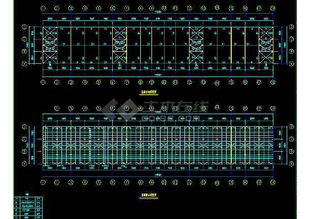 中国石化工程建设公司工程CAD平面布置图-图1