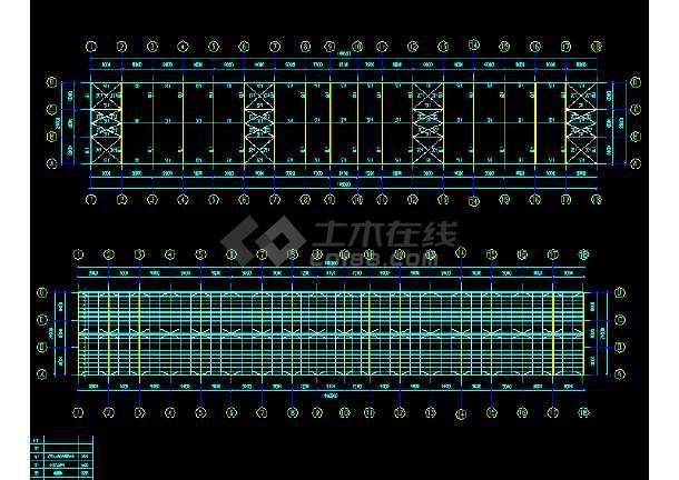 中国石化工程建设公司工程CAD平面布置图-图3