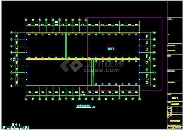 中阳石业扩建工程CAD设计施工图-图1
