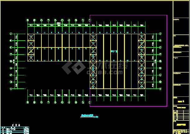 中阳石业扩建工程CAD设计施工图-图2