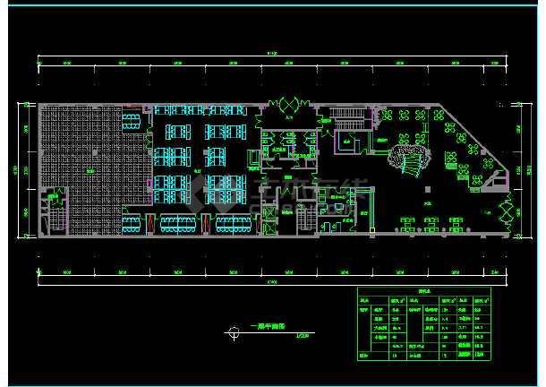 阿里郎宾馆方案CAD平面设计图纸-图3