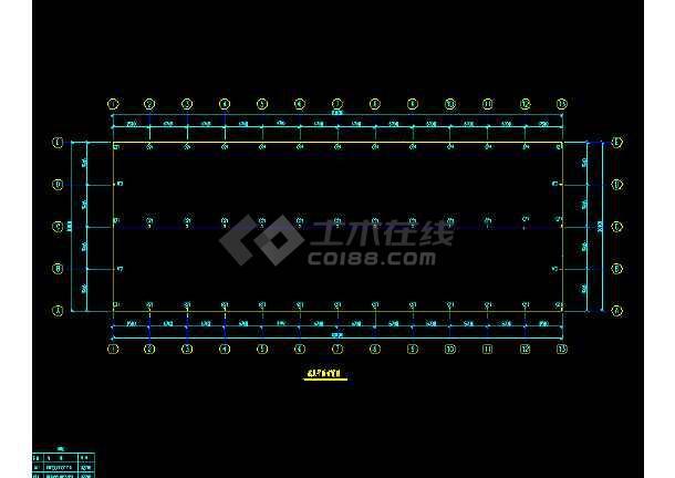 中石化一建公司工程施工设计cad-图1