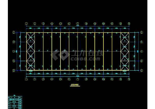 中石化一建公司工程施工设计cad-图3