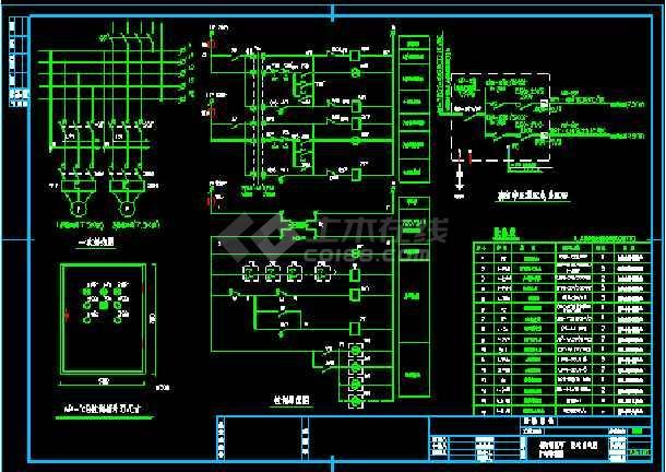苏州市某商业店铺电气照明cad设计图纸-图2
