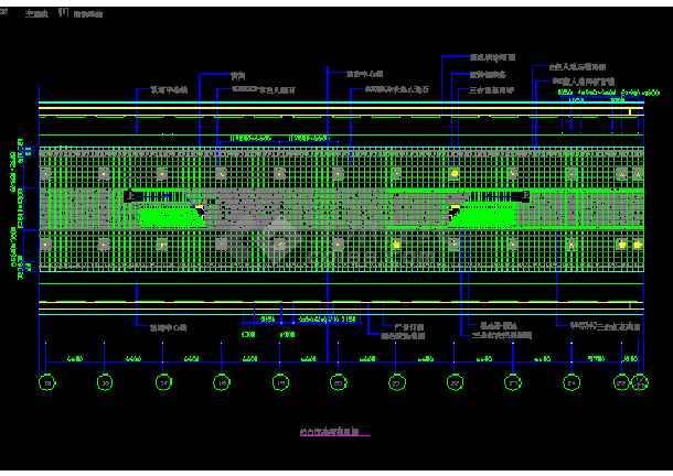 某市车站地铁室内装修cad设计施工图纸cad删除层胡图未选定图片