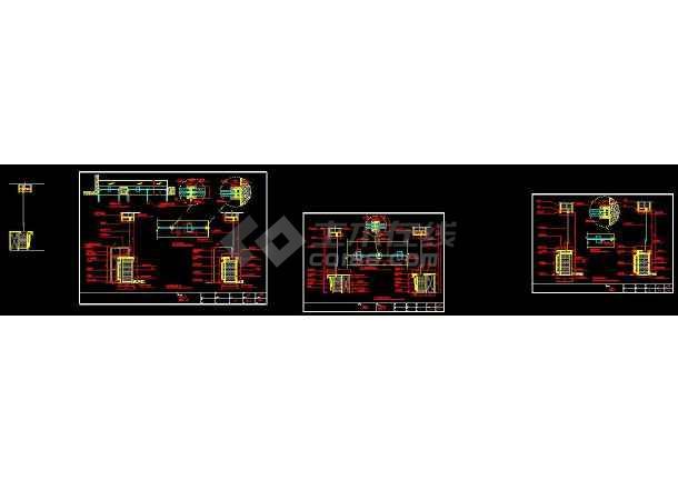 某地银行室内装修设计cad比例v银行方案图cad怎么柜台画图片