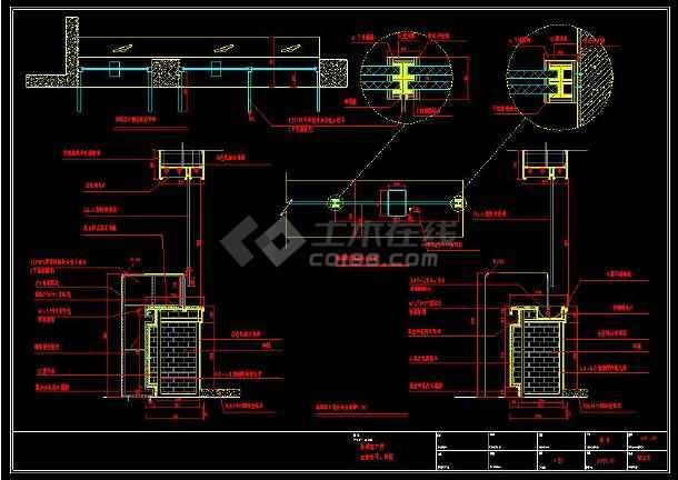 某地银行室内装修设计cad插件辅助柜台图cad方案使用施工图片