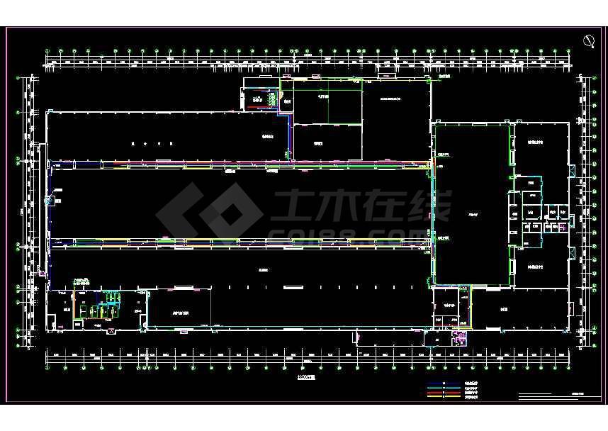 超高压变压器厂房通风空调图纸(全套)-图2