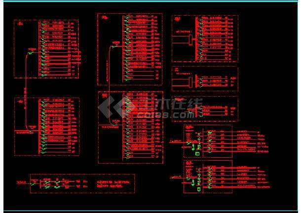 大型会所整体照明cad平面设计施工图-图1