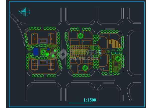 重庆某商会活动中心规划设计方案图纸-图2
