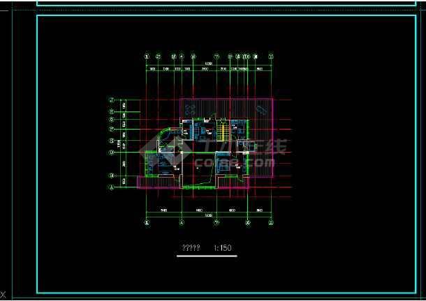 某地区某独栋别墅建筑施工图附效果图-图2