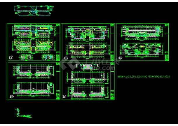 九层高v大楼大楼电气照明cad设计图深化图纸补充图片