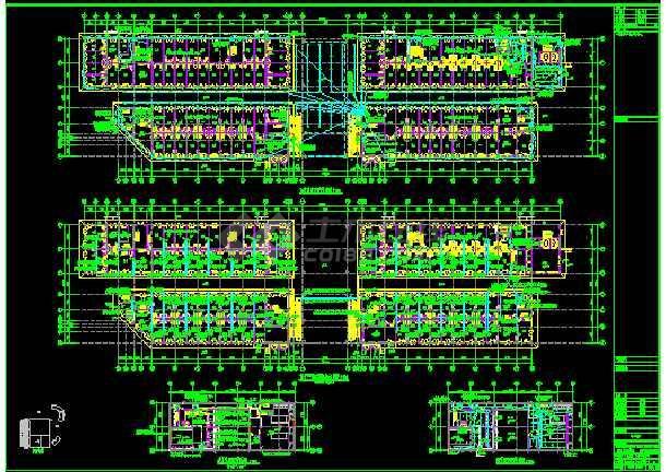 九层高综合摇椅电气照明cad设计图diy手工3d图纸大楼纸雕制作秋千图片