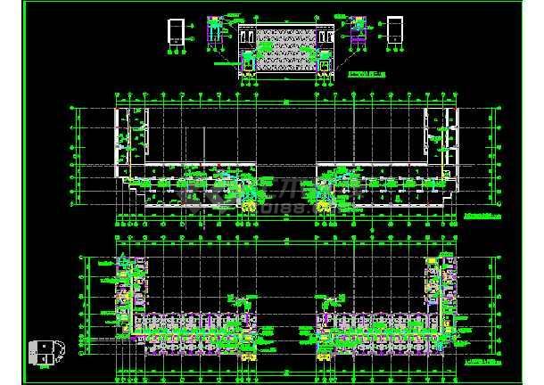 九层高v图纸图纸电气照明cad设计图大楼拼豆马赛克图片