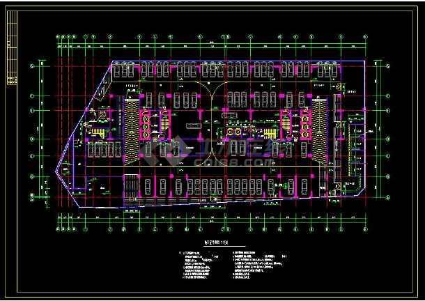 某地高层住宅建筑设计全套cad施工图-图2