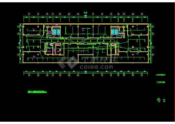 某城市酒店总统套房电气竣工设计图