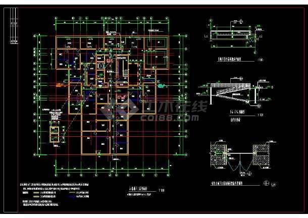 某地生活区精品高层住宅楼建筑设计cad施工图-图2