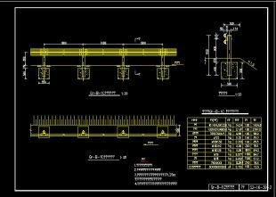 新规范全套梁护栏波形CAD农村房子128图纸图纸v全套图片