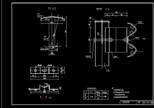 新规范护栏梁波形图纸CAD图纸的多用全套的画大2m图片