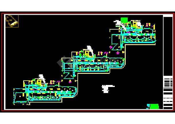 珠海某小区电气照明规划cad设计图