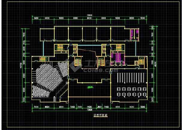 上海某现代型高校综合楼全套建筑设计图纸-图1