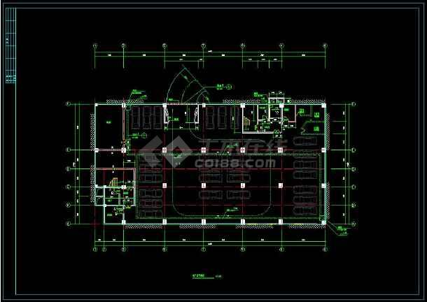 某地商住一体综合楼建筑设计cad施工图(含设计说明)-图2