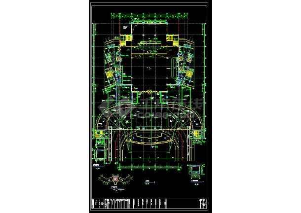 某地星级大酒店主楼建筑暖通空调设计cad施工图-图3