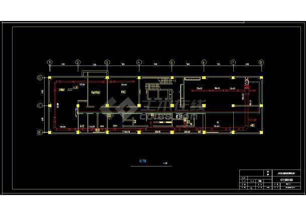 某地商业综合楼暖通空调设计cad施工方案图-图2