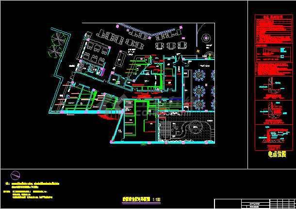 某酒店厨房电气图-图2